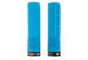 Paire de Grips DMR DeathGrip Flangeless Bleu