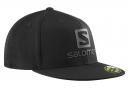 Casquette Salomon Logo Cap FlexFit Noir Homme