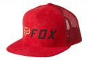 Casquette Fox Apex Rouge / Noir