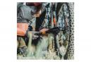 Lezyne Grip Drive HV S Hand Pump (Max 90 psi / 6.2 bar) Black / Red