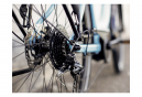 Vélo de Ville Électrique Femme Trek Verve+ 2 Lowstep Shimano Altus 9V 300 Bleu / Noir 2021