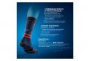 Chaussettes Thuasne Sport Activ Runtrail Bleu Nuit / Noir / Rouge