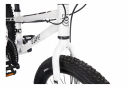 Vélo Enfant SCAMP Tallfox 20' Shimano 8V Blanc