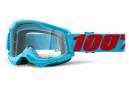 Masque 100% STRATA 2 | Bleu rouge Summit | Verres Clairs