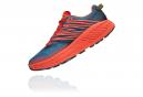 Chaussures de Trail Hoka One One Speedgoat 4 Rouge / Bleu