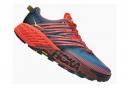 Chaussures de Trail Hoka One One Speedgoat 4 Large Rouge / Bleu