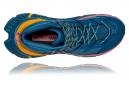 Chaussures Randonnée Hoka Tennine Hike GTX Bleu / Jaune / Rose