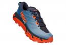 Chaussures de Trail Hoka One One Mafate Speed 3 Bleu / Orange