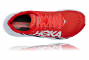 Chaussures de Running Hoka One One Rocket X Fiesta Rouge / Blanc