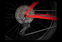 VTT Semi Rigide Trek Procaliber 9.5 29'' Shimano Deore 12V Marigold to Radioactive Red Fade 2021