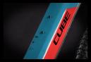 VTT Électrique Semi-Rigide Cube Reaction Hybrid Performance 625 Shimano Alivio 9V 625 Wh 29'' Bleu Rouge 2021
