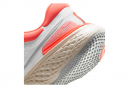 Chaussures de Running Femme Nike ZoomX Invincible Run Flyknit Blanc / Rose