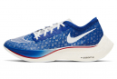 Chaussures de Running Nike ZoomX Vaporfly Next BRS Rouge / Bleu / Rouge