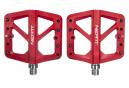 Paire de Pédales Plates Neatt Composite 5 Picots Rouge