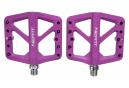 Paire de Pédales Plates Neatt Composite 5 Picots Violet