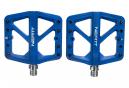 Paire de Pédales Plates Neatt Composite 5 Picots Bleu