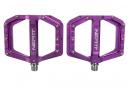 Paire de Pédales Plates Neatt Oxygen V2 8 Picots Violet
