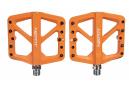 Paire de Pédales Plates Neatt Composite 5 Picots Orange
