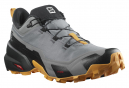 Chaussures Salomon Cross Hike GTX Gris Orange Homme