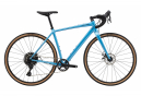 Cannondale Topstone 4 Gravel Bike microSHIFT Advent X 10S 700 mm Azul Alpino 2021