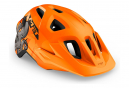Casque Enfant Met Eldar Orange Pieuvre Mat 2021