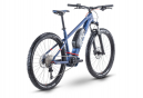 VTT Électrique Semi-Rigide Husqvarna Light Cross 3 Shimano Deore 10V 630 Wh 27.5'' Bleu 2021
