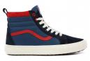 Chaussures Vans SK8-Hi Montante Bleu / Rouge