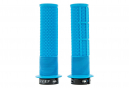 DMR DeathGrip Thin Grips with Flanges Blue