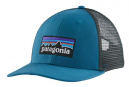 Casquette Patagonia P-6 Logo LoPro Trucker Hat Bleu Orange