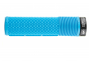 Puños DMR DeathGrip Flangeless Thin - blue black