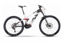VTT Electrique Tout-Suspendu Husqvarna Mountain Cross 4 Shimano Deore 10V 500 Wh 27.5''/ 29'' Blanc / Noir 2021