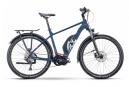 VTC Électrique Husqvarna Cross Tourer 3 Shimano Deore 10V 630 Bleu 2021