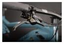 VTT Électrique Tout-Suspendu Haibike FullNine 5 Shimano Deore M5100 11V 500Wh 29'' Bleu / Jaune 2021