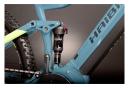 Haibike FullNine 5 Elektro Vollfederung MTB Shimano Deore M5100 11V 500Wh 29' Blau / Gelb 2021