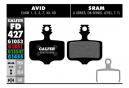 Paar Galfer Semimetallic Avid Elixir 1 2 3 5 7 / Sram XX. X0. X7. X9. DB Standard