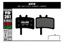Coppia di pastiglie freno semi metalliche Galfer Avid BB7, Juicy 3/5/7, Ultimate, Carbon Standard