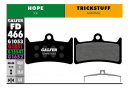 Coppia di pastiglie semi-metalliche Galfer Hope V4 / Trickstuff Maxima Standard
