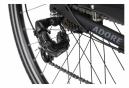 Vélo électrique homme aluminium Adore Versailles 28  E-Bike noir 250 Watt Li-Ion 36 V/10,4 Ah 7 vitesses