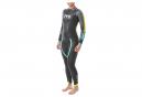 TYR Hurricane Cat 2 Womens Triathlon Suit Black / Yellow / Turquoise