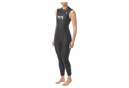Hurricane C1 Womens Sleeveless Triathlon Wetsuit Black