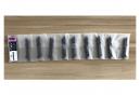MOMUM - Valves aluminium base carrèe -TAV - 60mm - BLACK
