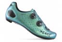 Zapatillas de carretera Lake CX332 Chameleon verde