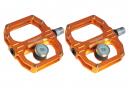 Paire de Pédales Magnétiques Magped Sport 2 150N Orange