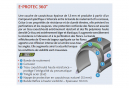 Neumático City Mitas Electron 700/28 '' Dynamic OC E-Protec 360 ° 29 TPI Reflex