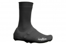 Pair of Velotoze High Silicone Snaps Shoe Covers Black
