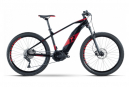 VTT Électrique Semi-Rigide R Raymon HardRay E-Nine 6.0 Shimano Deore 10V 500 Wh 29'' Noir / Rouge 2021