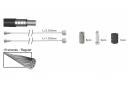 Kit de Frenado Completo / Cables y Carcasa / Basic Elvedes Blanco