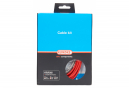 Kit completo de frenos / Cables y carcasa / Basic Elvedes Red