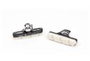 Paire de Patins Elvedes 55mm pour Campagnolo Blanc