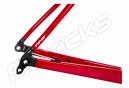 Kit Cadre / Fourche Time Alpe D'Huez 01 Disc Blanc Racing Rouge